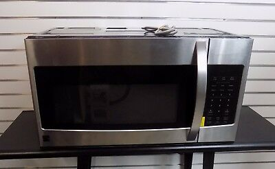 Kenmore 80323 1.6 cu ft Over-the-Range Stainless Steel Microwave Oven Appliance