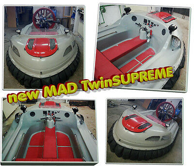 MAD Hovercraft Twin Typhoon, Dual EFI Engine, Custom Build, LIMITED Time Offer!