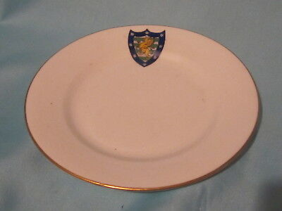 Aynsley China Plate - DOWNING COLLEGE, CAMBRIDGE UNIVERSITY crest
