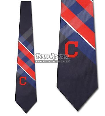 Cleveland Indians Ties FREE SHIPPING Mens Indians Necktie Licensed Neck Tie NWT