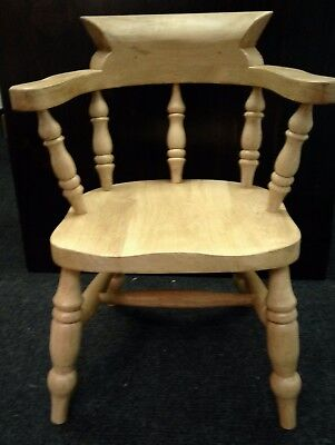 Child Oak Captain Chair for Personalised gift