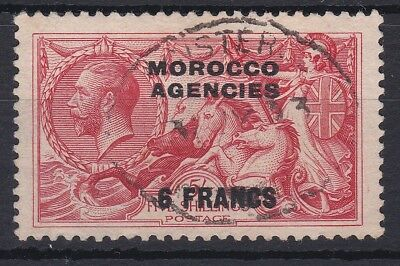 MOROCCO AGENCIES 1932 5f ON 5/ SG 201 FINE USED CAT £40