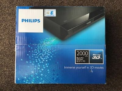 philips blu ray player 3D BDP2190 BRAND NEW SEALED