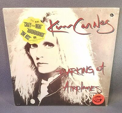 """KIM CARNES LP """"Barking At Airplanes"""" - EMI - HYPE - NEW/SEALED/SHRINK - MINT"""