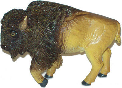 AAA 52011 Buffalo Bison Bull Model Toy Figurine Replica - NIP