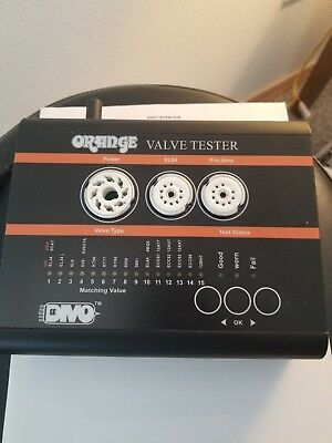Orange Amplifiers DIVO VT-1000 Portable Tube ( Valve ) Tester