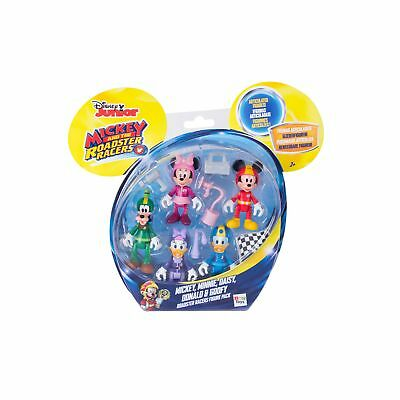 Mickey Mouse Clubhouse Mickey Roadster Racers Figures (5 Pack) From Debenhams