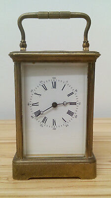 Antique Victor Reclus Paris Striking Carriage Clock