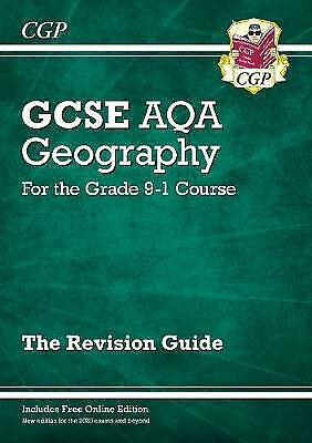 New Grade 9-1 Gcse Geography Aqa Revision Guide, Paperback by CGP Books; CGP ...