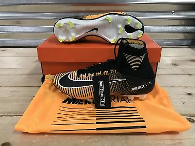 Nike Mercurial Superfly V DF FG Soccer Cleats Flyknit Laser Orange (831940- 801) 0ee416677