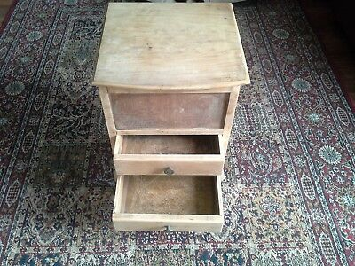 Small Antique Cabinet/ Sewing Station, Maybe Late Victorian