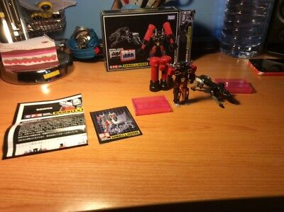 Takasa Tony Transformers Masterpiece P-15 Rumble & Jaguar Great Condition