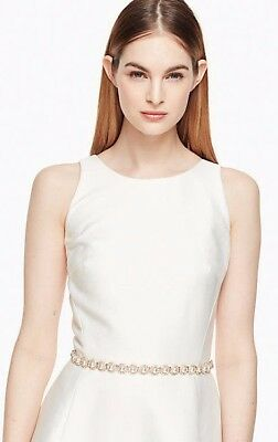 Kate Spade Pearl and Stone Bridal Belt $88 Small