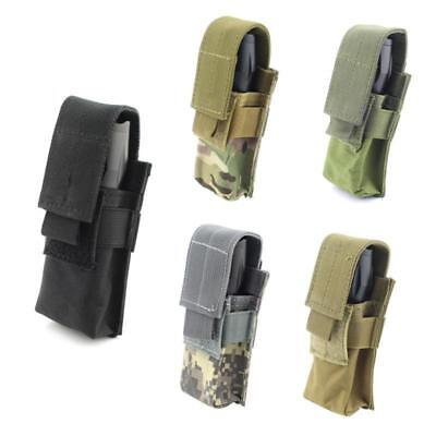Military Tactical OC Spray Flashlight Pouch Holster Sport Molle Utility Tools