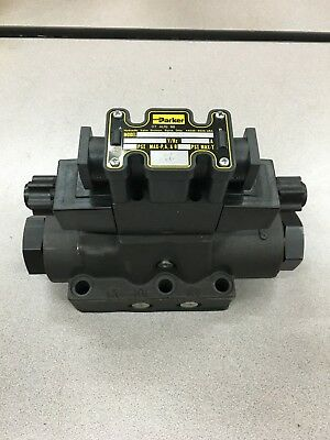 New No Box Parker D1Vhw4Cnycf4 75 Hydraulic Valve With D61Vw1C4Nycf4 75