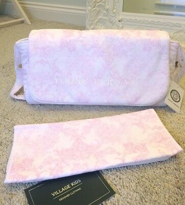 Young Versace Designer Baby Changing Bag