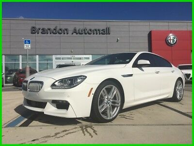 2014 BMW 6-Series GranCoupe M Sport Package M Sport Edition Driver Assistance Plus BMW 650i GranCoupe 4.4L V8 Twin Turbo M Sport Package