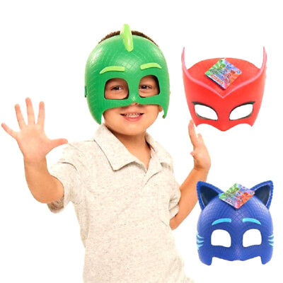 PJ MASKS Kids Face Mask Toddler Child Action Figures Toy Clothing Xmas Toys Gift