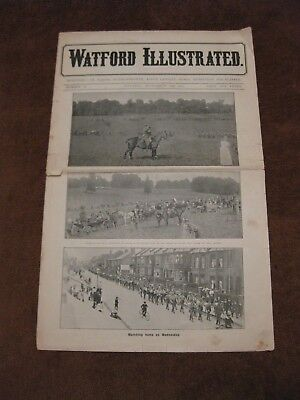 WATFORD ILLUSTRATED NEWSPAPER SEPTEMBER18th.1915 WAR NEWS FOR THE WATFORD AREA