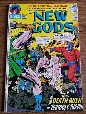 The New Gods #8 (Apr-May 1972, DC)