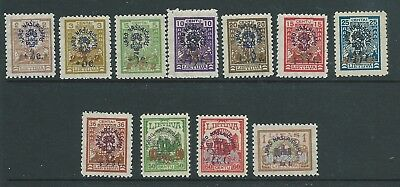 Russia Lithuania Good Lot Early Overprints Mh Fresh Looking!