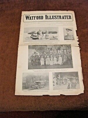 WATORD ILLUSTRATED NEWSPAPER DECEMBER 5th.1914 WAR NEWS FOR THE WATFORD AREA
