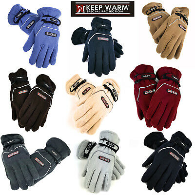 Thermo -30  Handschuhe Damen Herren Winter Warm, Keep Warm Fleecehandschuhe