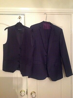 Next Boys 3 Piece Suit Ages 13-14years