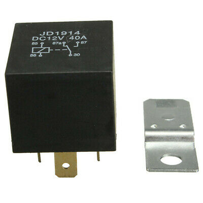 [NEW] 4 Pin 30A 12V 30 Amp Relay Normally Open Contact for Car Boat