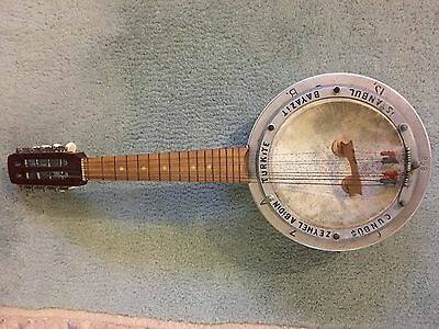 Reduced again! 1930's Zeynil Abidin Cunbus banjo mandolin numbered p. 868