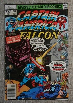Marvel Comics Captain America 219: FN-