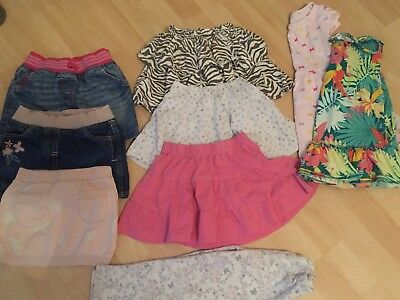 Girls Clothes Bundle Age 3-4 Years (24 Items)