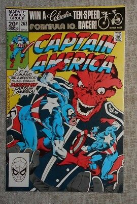 Marvel Comics Captain America 263: VFN+
