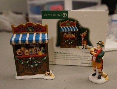 Dept 56 Alpine Village The Bierfest Judge #56311