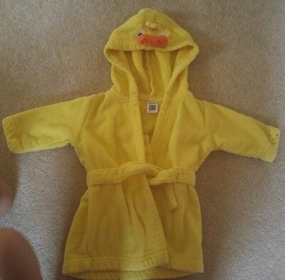 0-9 month robe - duck