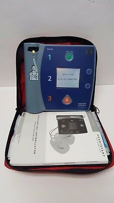 PHILIPS Heart Start FR2+ with Adult & Infant Pads and Manual