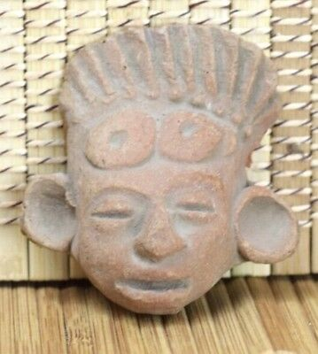 Teotihuacan Head Pre-Columbian Antiquity Ancient Artifact Olmec Mayan Aztec