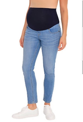 Great Expectations Maternity Full Panel Ankle Length Skinny Jeans NWT New