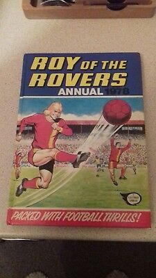 Roy Of The Rovers 1978 Annual