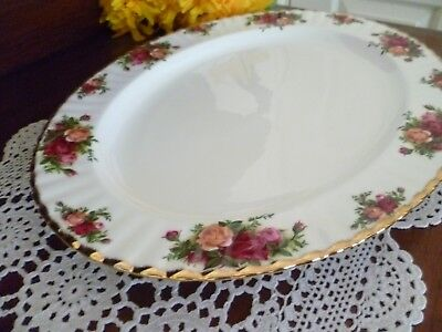 Regal 41.5Cm Old Country Roses Large Oval Serving Plate  Platter  Mint Condition