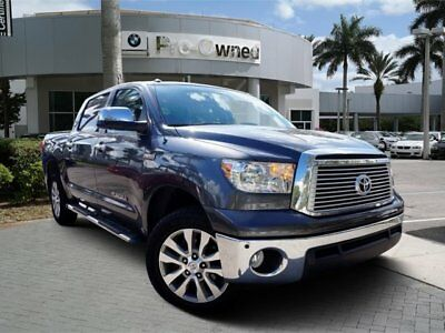 2013 Toyota Tundra Platinum Extended Crew Cab Pickup 4-Door 2013 Pickup Used Gas/Ethanol V8 5.7L/346 6-Speed Automatic Ethanol - FFV 4WD