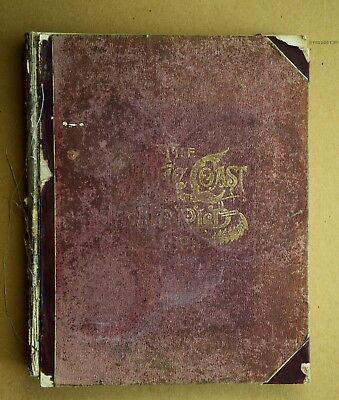 RARE 1892 Pacific Coast and World Atlas Geographical, Astronomical etc...