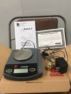 OHAUS Scout Balance Scale 200g Max