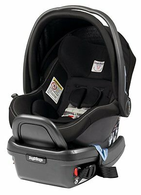 New! Peg Perego Primo Viaggio 4/35 Onyx Infant Car Seat W/ Base Made In Italy!
