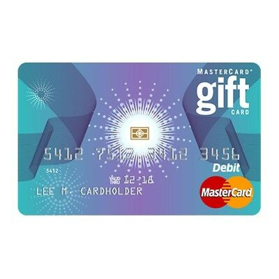 $100 Master Gift Card - Fast Shipping!!