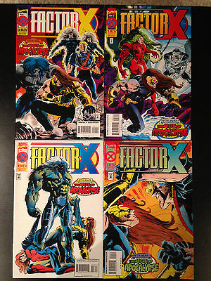 Factor X Comic Set #1-4 Marvel Comics Age Of Apocalypse John Frances Moore