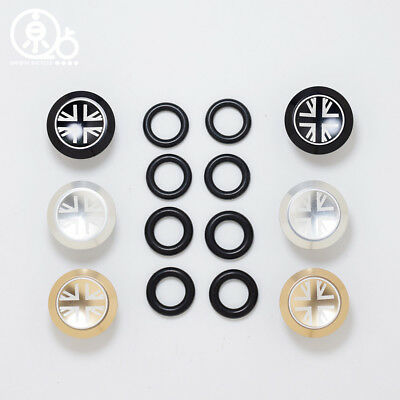 1 Pair Bike Bicycle Aluminum Grips Caps End Plugs Stoppers 6 colors S6L1