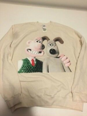NWT Vintage Wallace and Gromit Sweatshirt L/XL Large XLarge Made in USA