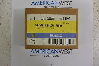 Square D 9065 C0-1 - Thermal Overload Relay - New