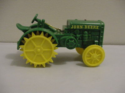 Nib John Deere 2 Cylinder Gp Tractor Speccast Collectibles Christmas Ornament